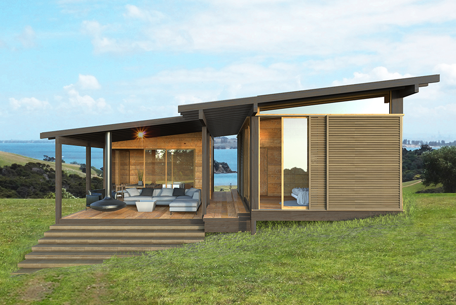 Passive house for new zealand jessop architects for Contemporary house designs nz